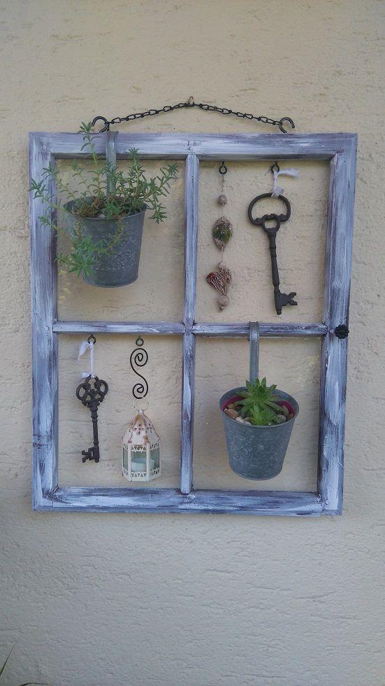Altes Fenster | VENKOVNÍ DEKORACE | Pinterest | Alte fenster ...
