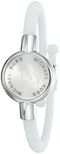 Michael Kors Access Activity Tracker Crosby Silicone Silver Bracelet Continue To The Product At The Image Silicone Bracelets Michael Kors Jewelry Bracelets