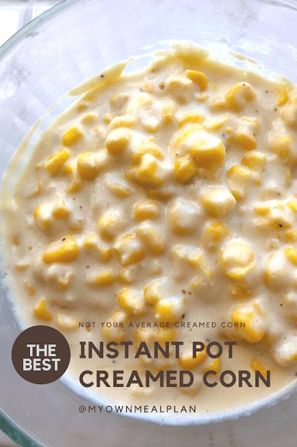 Instant Pot Creamed Corn - Alex Daynes