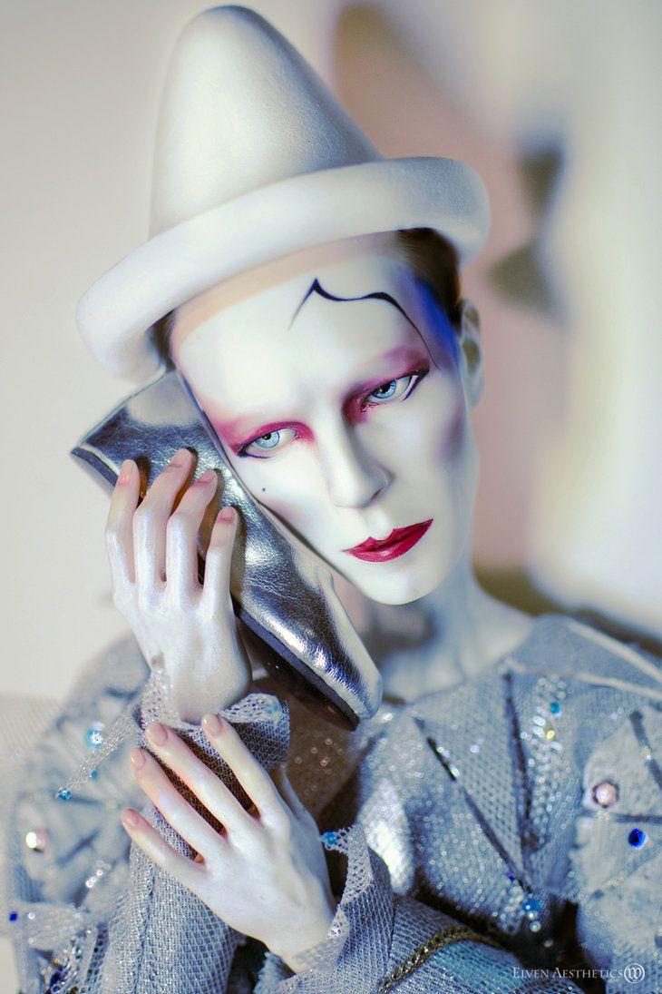 Blue Pierrot Doll by Katyok on deviantART WOW! from David Bowie