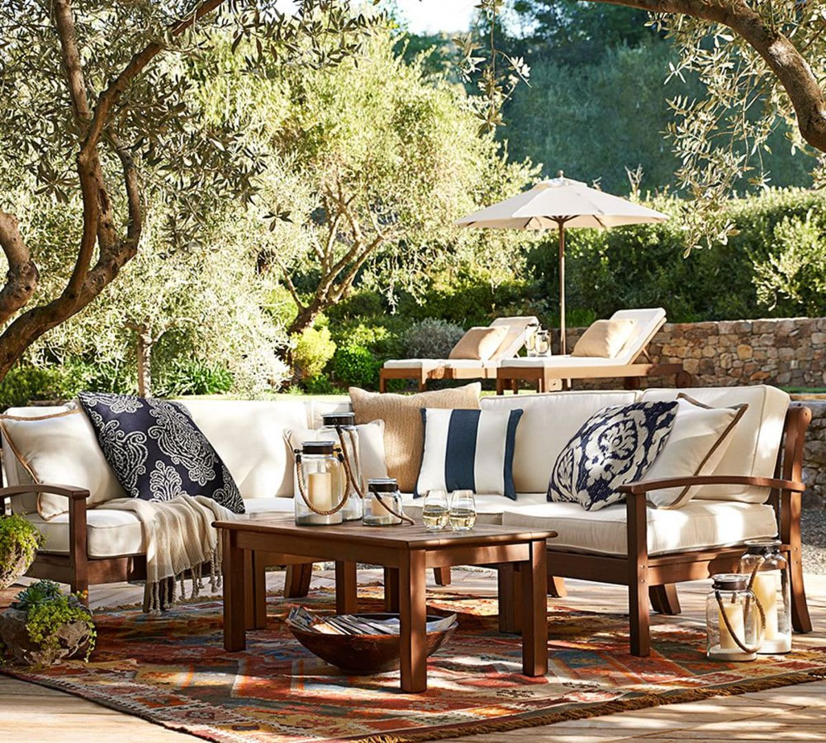Chatham Sectional Set Pottery Barn Outdoor Furniture