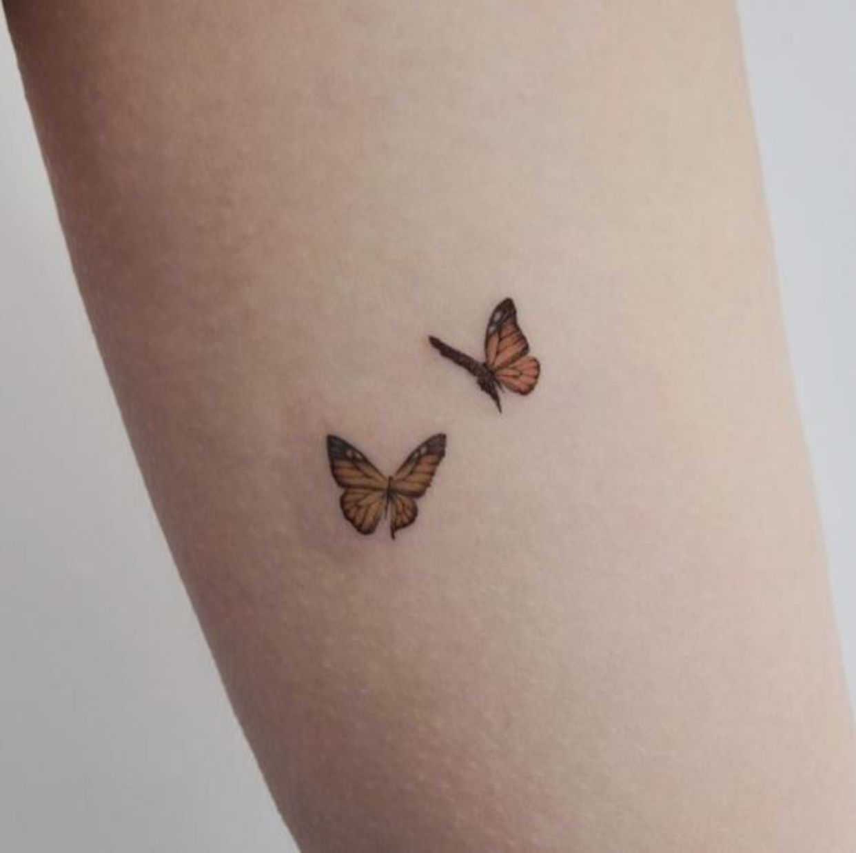 Delicate Butterfly Tattoo Tiny Butterfly Tattoo Butterfly Tattoo Small Butterfly Tattoo