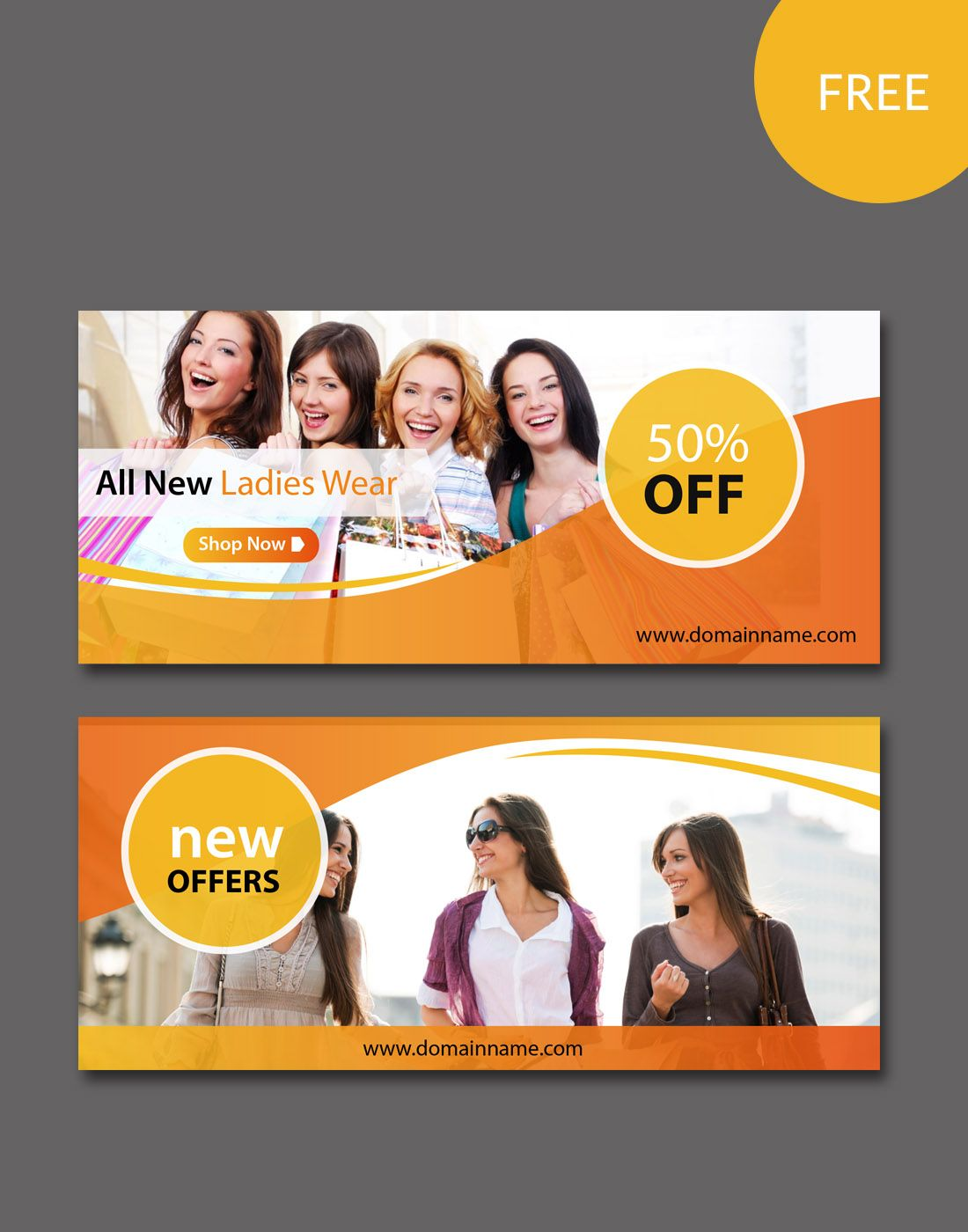 Free Website Banners Templates Free Website Psd Banners
