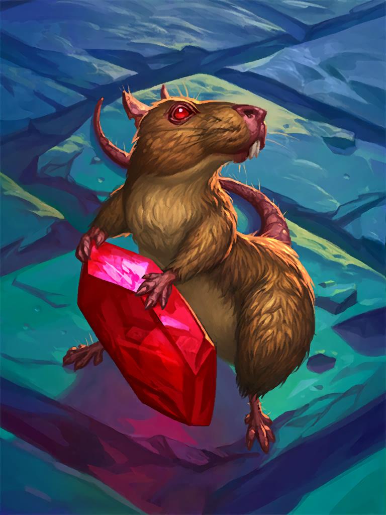 Card Name: Rat Artist: Ludo Lullabi & Arthur Bozonnet ✖