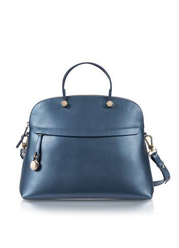 9b45a4f1cd0 Furla Piper Top Handle Indaco Dome Bowler Bag