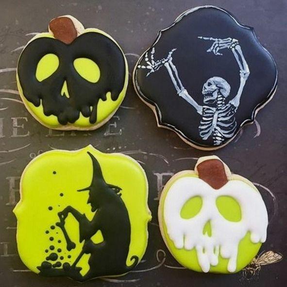 Hier findest du tolle Halloweenrezepte zum nachmachen! Schmeißt du noch eine Last-Minute-Party? - Dann findest du hier schnelle und einfache Snacks zum nachmachen! #halloweencookies