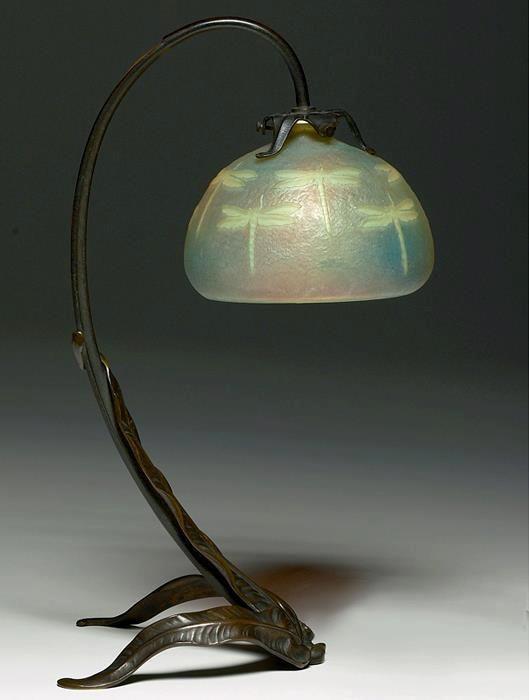 Dragonfly Lamp By Louis Majorelle. 1905 | Jv | Art Nouveau