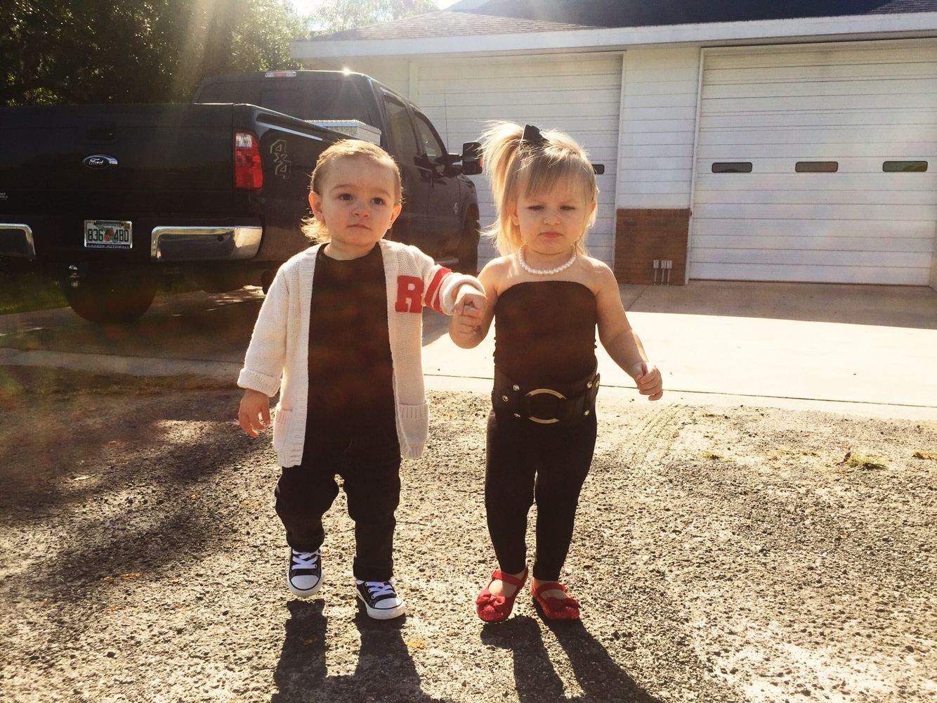 Danny zuko black t shirt - Danny Zuko Sandra Dee Grease Family Toddler Costumes