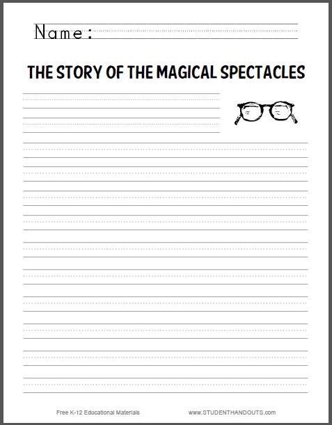Creative writing prompts worksheets pdf