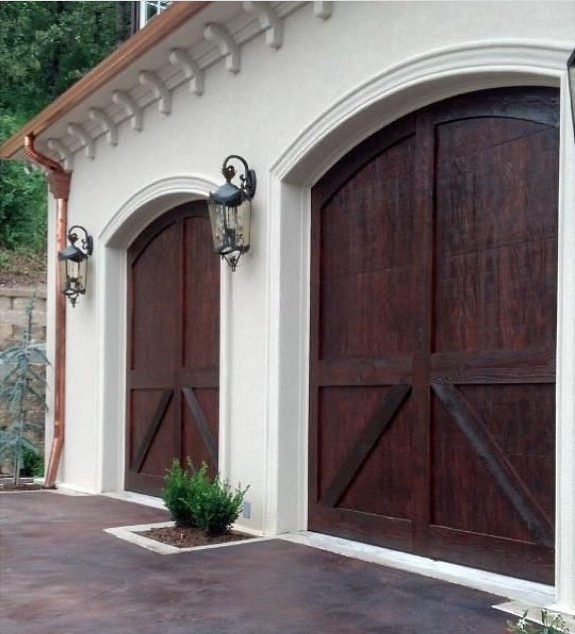 Carriage Style Garage Doors.