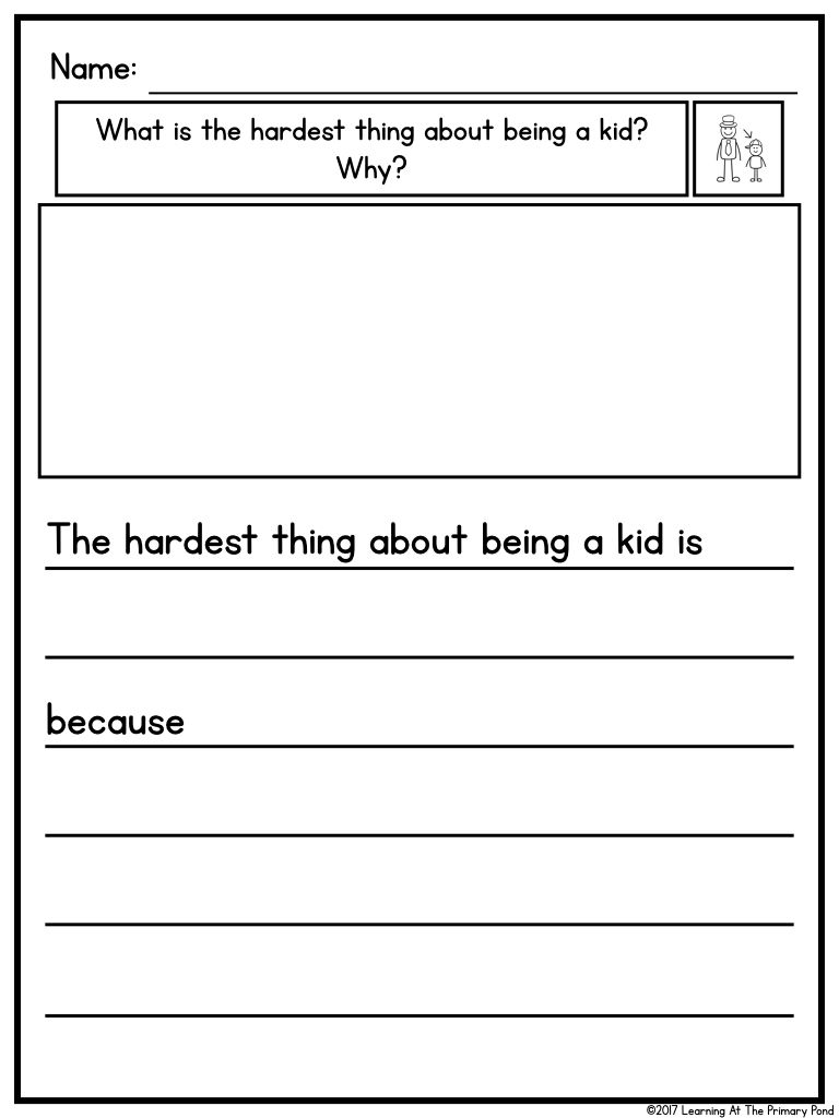 How To Differentiate Writing Instruction In K 2 Students