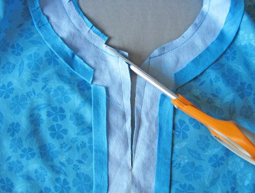 How to Sew a Tunic Top from a Basic Shirt Pattern: Part Two