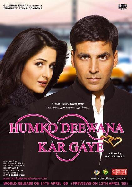 Humko Deewana Kar Gaye Bollywood Movies Bollywood Movie Bollywood Posters