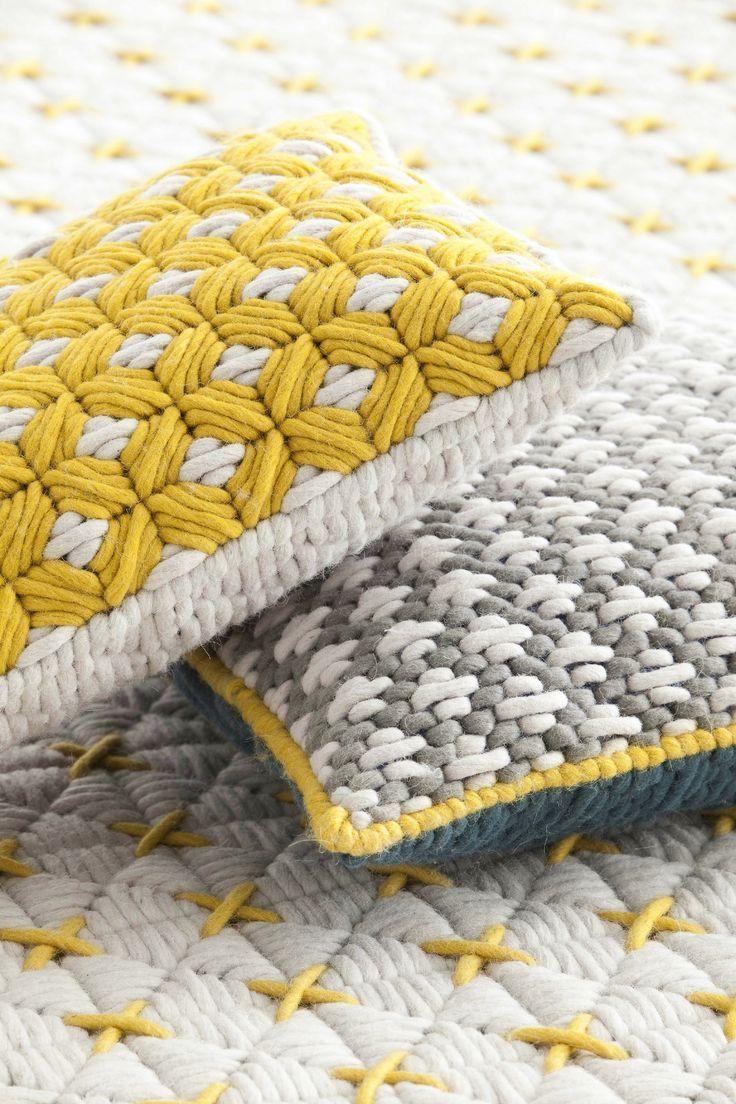 Woven pillows