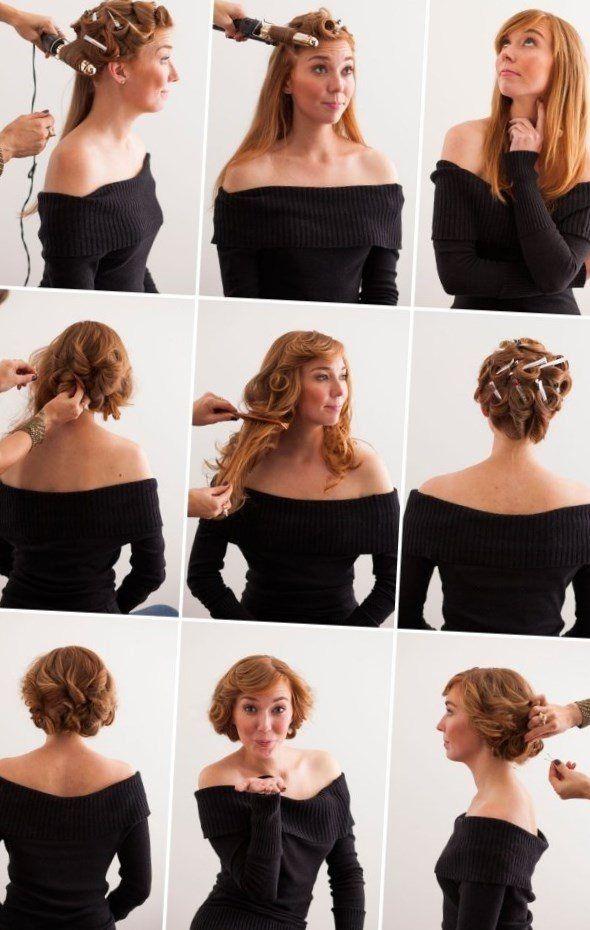 Pin Up Frisuren Selber Machen Stylehaare Info 115 Pin Up