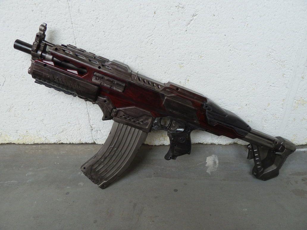 NJH Arms RSCB Rapid Fire Tek / Nerf Like Rifle