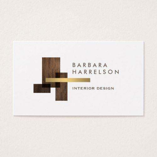 Modern Architectural Interior Design Logo Business Card Zazzle Com In 2020 Interior Designer Logo Business Card Design Interior Designer Business Card