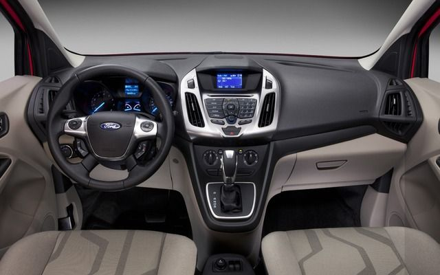 2017 Ford Transit Connect Wagon Interior View Ford Transit