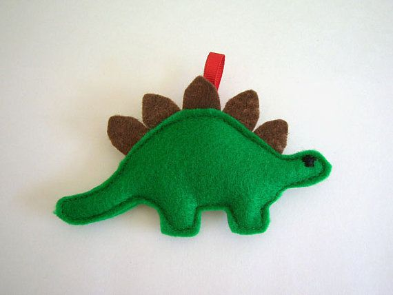 Stegosaurus+Pirate+Dinosaur+Holiday+Ornament+by+pandawithcookie,+$8.00