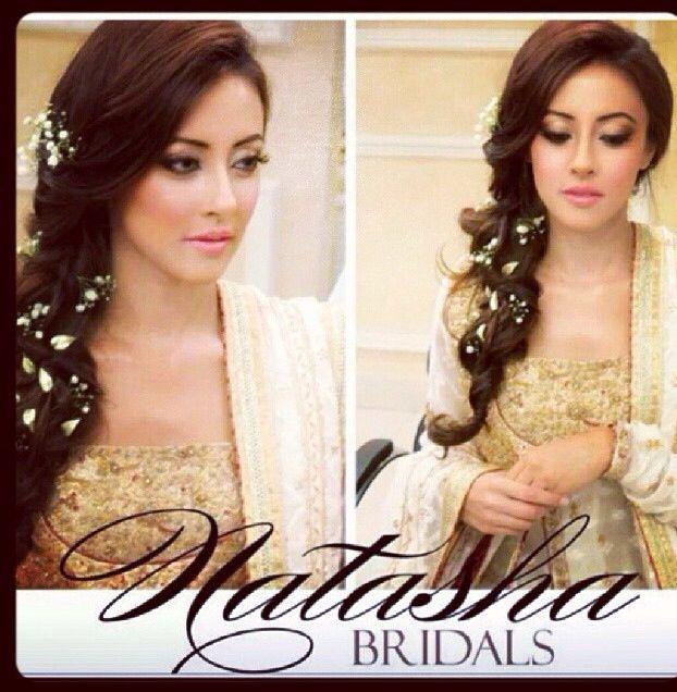 Makeup by Natasha Salon Karachi. #pakistan#beautiful#bride