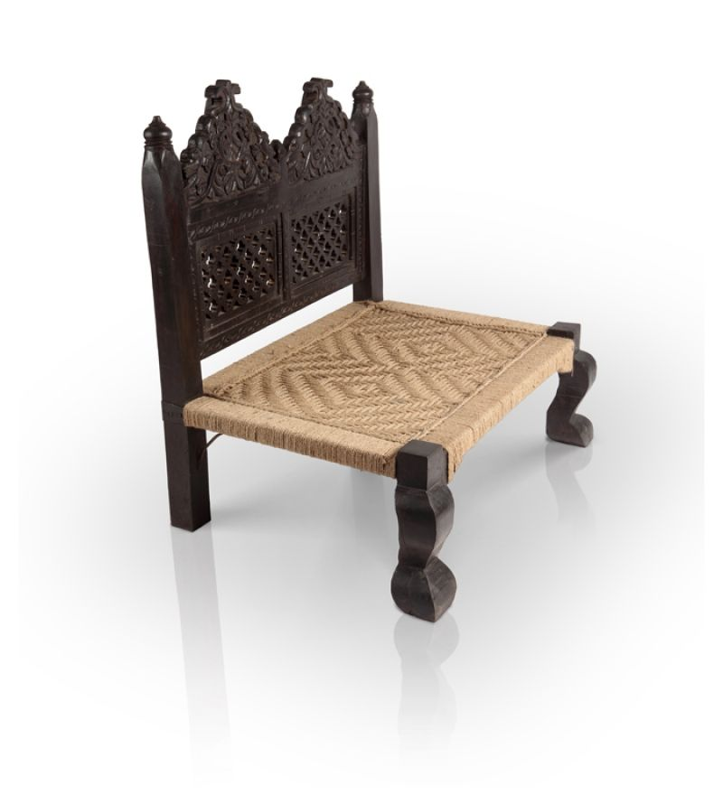 Maharaja Chair In Mango Wood Chairs Outdoor