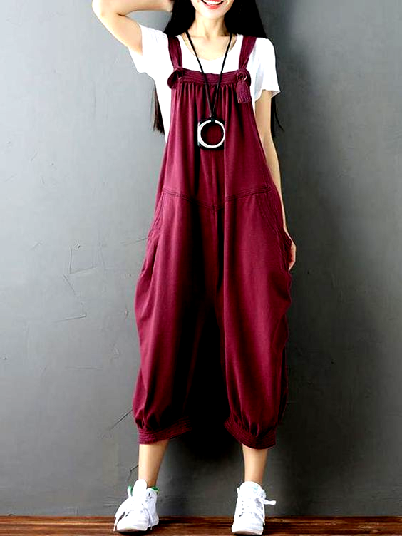 Discover unique trendy women's dungarees with EVA Trends, ranged among diverse shades of colors and styles, from Plain to Floral, from Town & Country to Westie, a fine unique collection of dungarees. 30% OFF !! PLUS !!  Get Free T-Shirt when You order 2 dungarees of your choice.  Mystery Floral Dungaree #evatrends #OOTD #40plusstyle #50andfabulous #everydaystyle #dungaree  #evatrends #evatrendsdungarees #dungarees2018