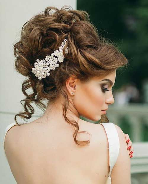 20 Wedding Hairstyle Glamorous Wedding Hair Wedding Hair