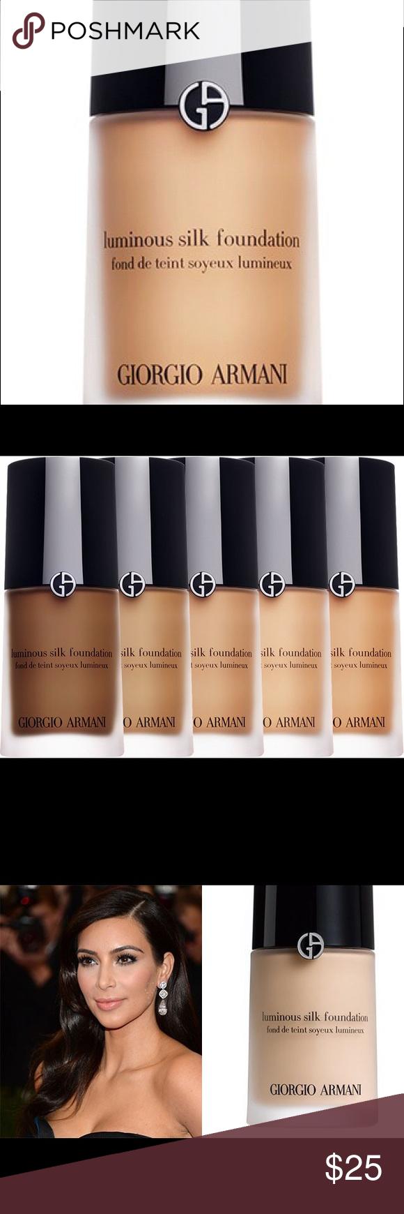 Giorgio Armani Luminous Silk Foundation 6 0 Giorgio Armani Luminous Silk Luminous Silk Foundation Giorgio Armani Makeup