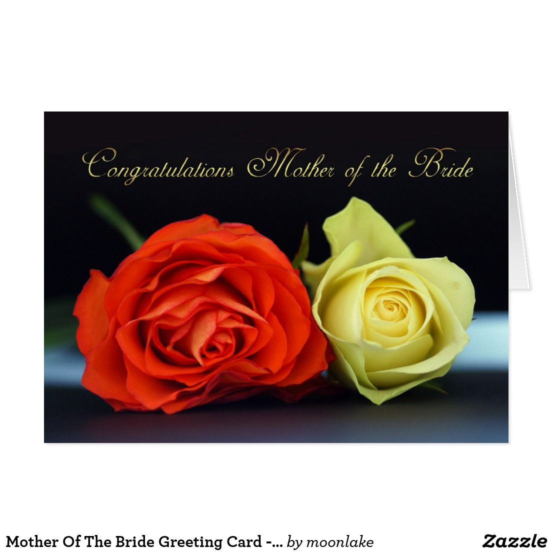 Mother of the bride greeting card congratulation wedding mother of the bride greeting card congratulation m4hsunfo