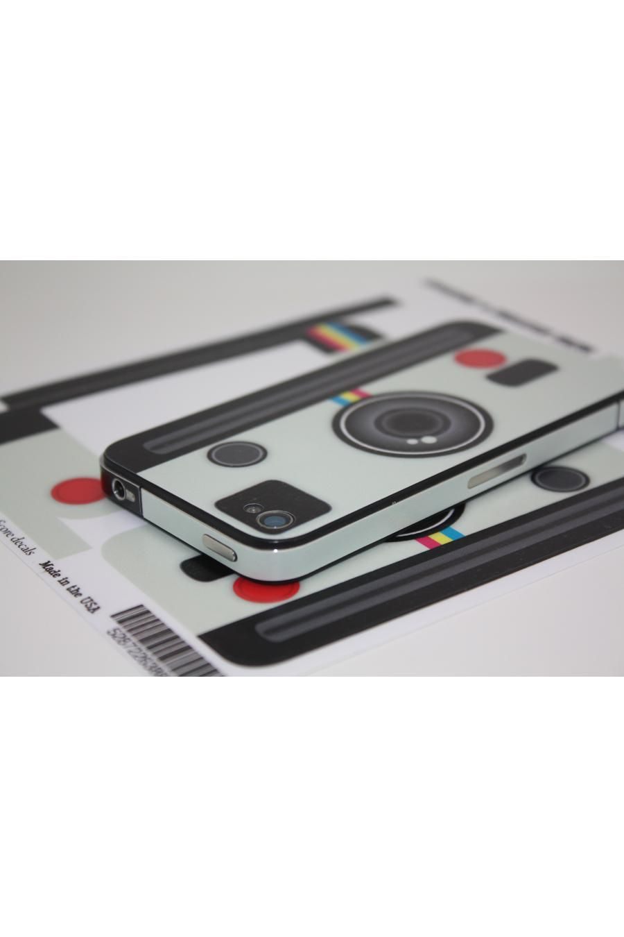 Polaroid Camera iPhone Decal - awesome!
