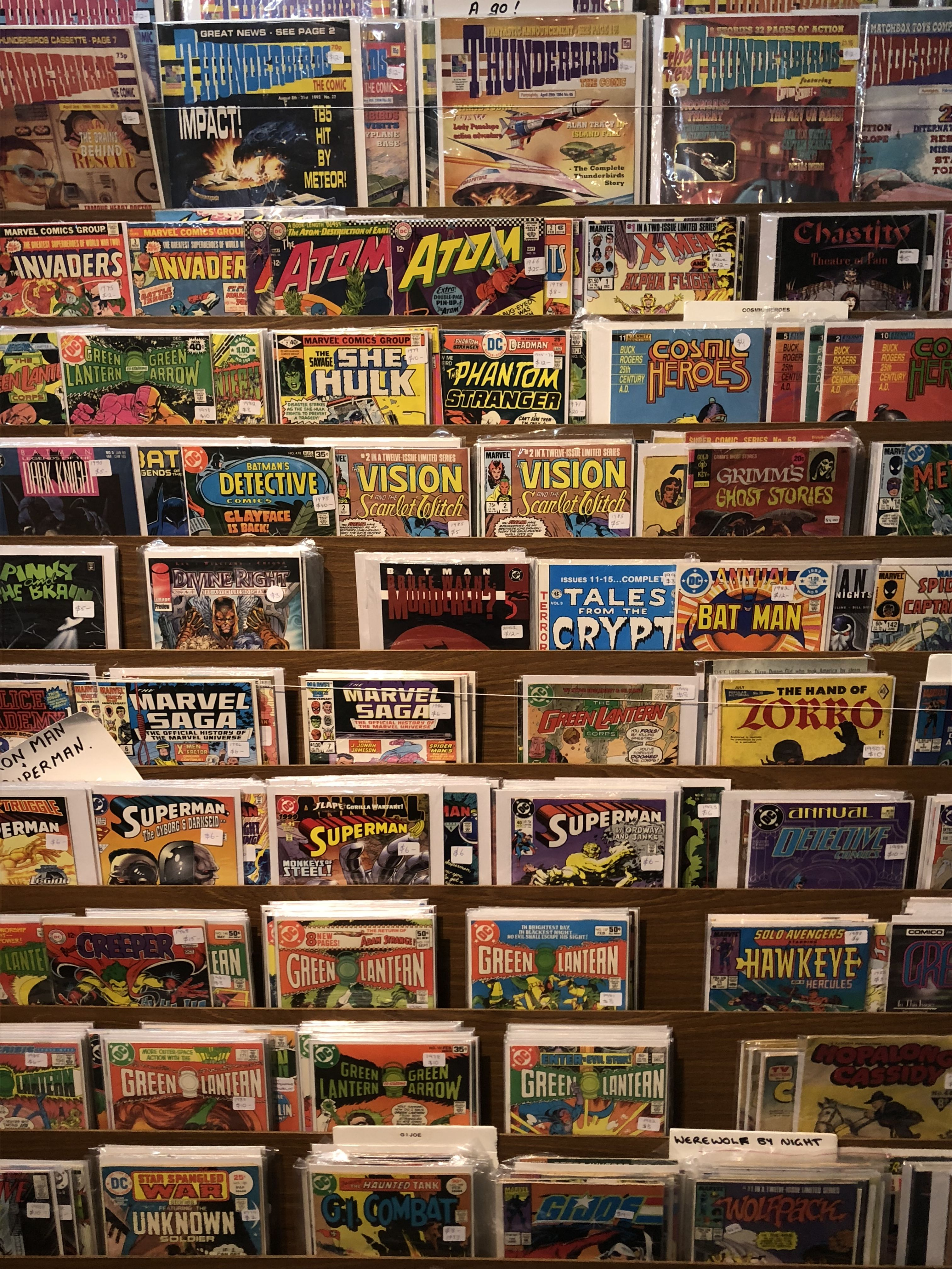 Aesthetic 80s Comics Vintage 80s Retro 80scomics Aesthetic 90s Comics Marvel Dc 80saesthetic 90saes Comic Book Shop Book Aesthetic Light In The Dark