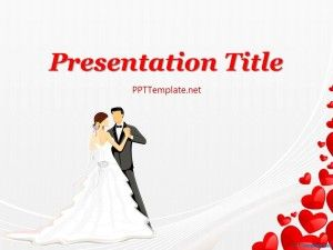 Free Wedding Ppt Template For Powerpoint Presentation On Topic