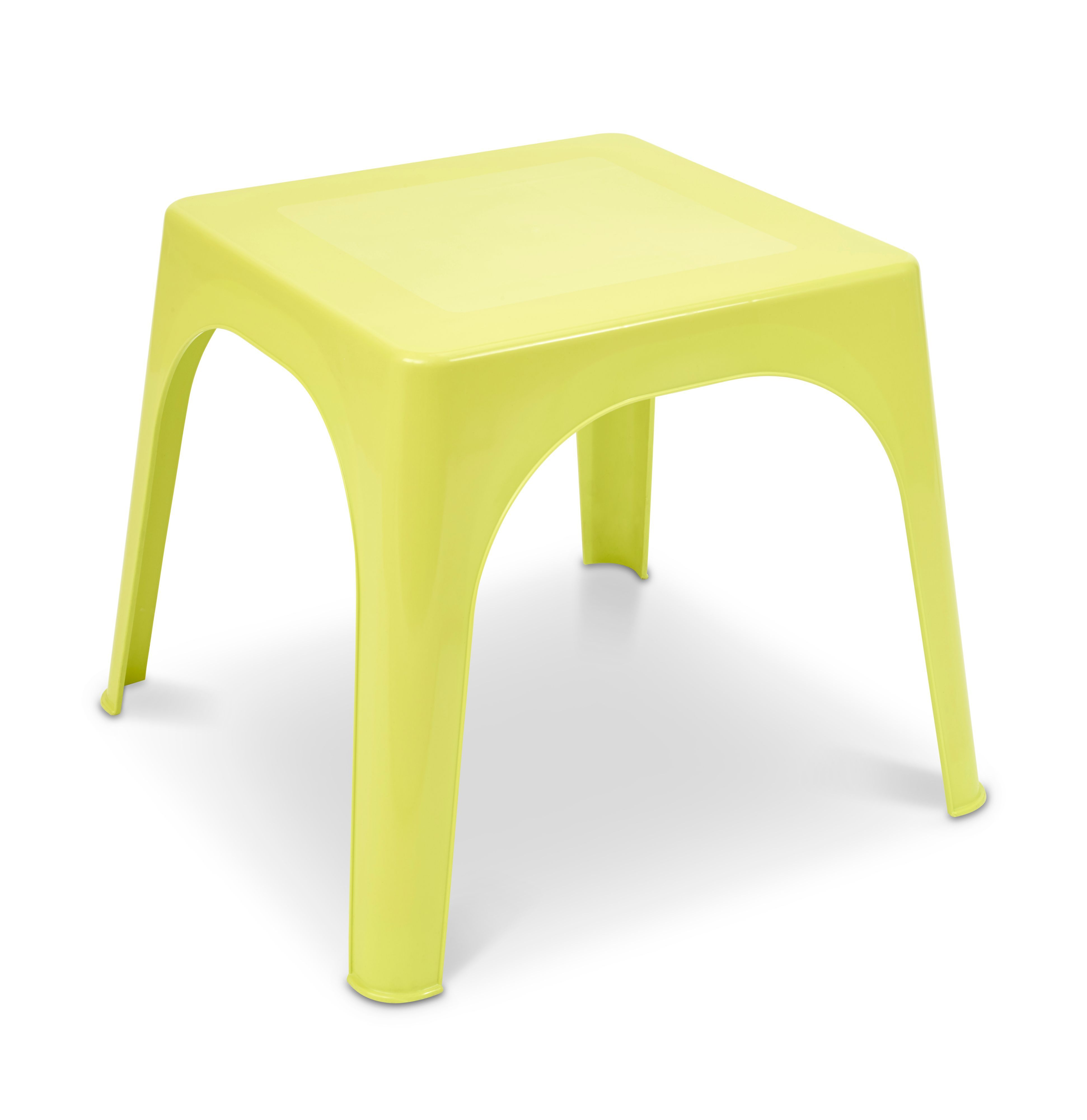 Incredible 10 Reduced Noli Lime Green Plastic 4 Seater Kids Table Gmtry Best Dining Table And Chair Ideas Images Gmtryco