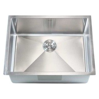 Shop for 26-inch Stainless Steel Single Bowl Undermount 15mm Radius ...
