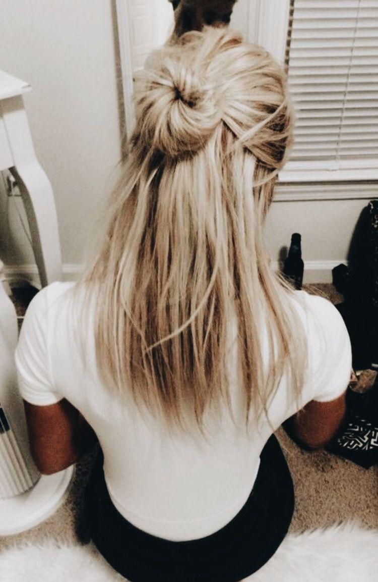 Deborahanneee Pinterest Hair Styles Cool Blonde Hair Hair Color
