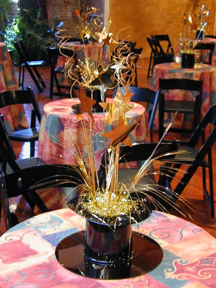 New Years wedding centerpiece | New Years Eve Wedding ...