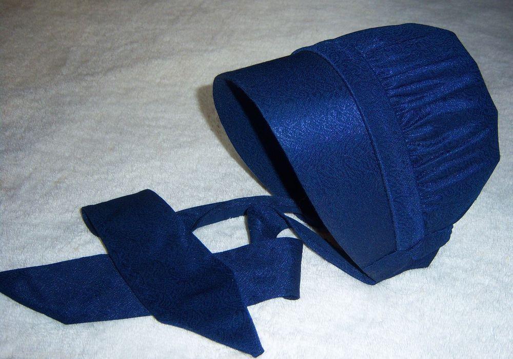 Amish Mennonite Womens Bonnet Hat Plain Dressing Lancaster 55a7c3a08dd1