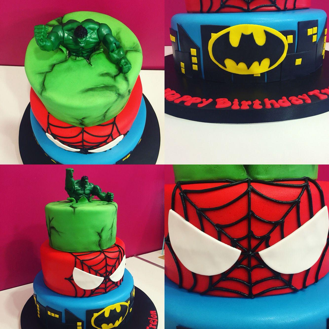 Avengers birthday cake Jalen Birthday Ideas Pinterest