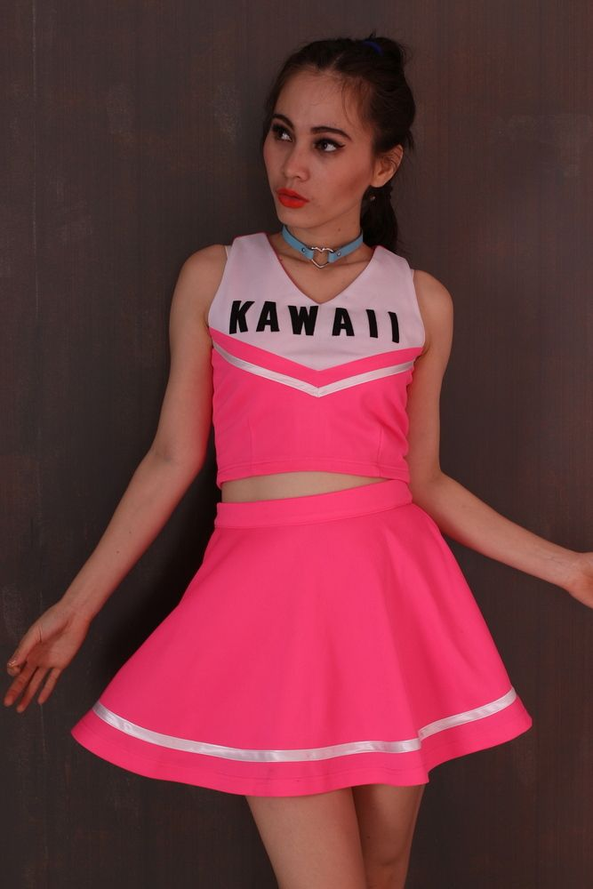 Image of Made To Order , Team Kawaii Cheerleading Set