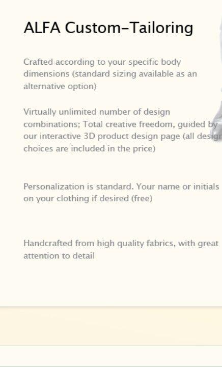 The Alfa advantage at www rajon-powell alfadesigner com