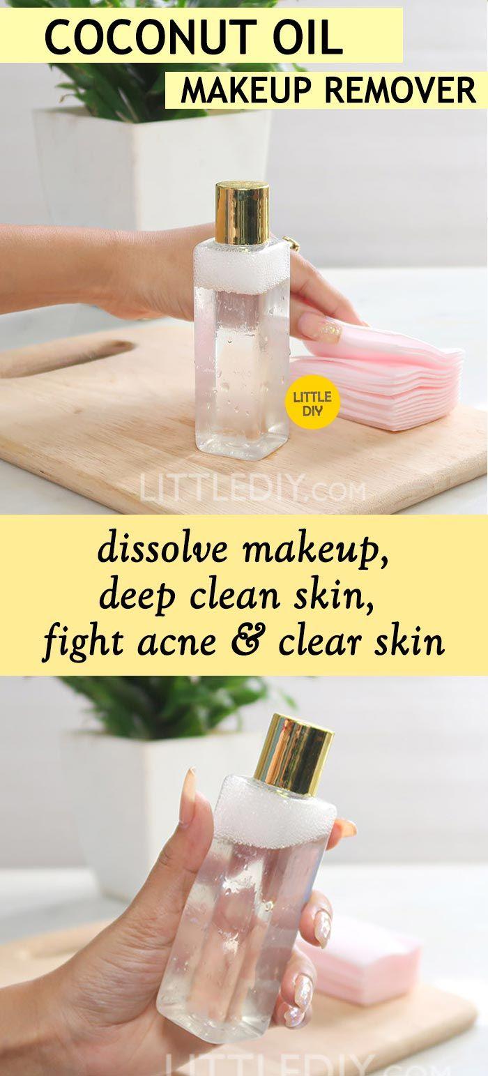 3INGREDIENT COCONUT OIL MAKEUP REMOVER Oil makeup