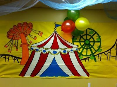vbs decorating ideas and tips roller coaster amusement