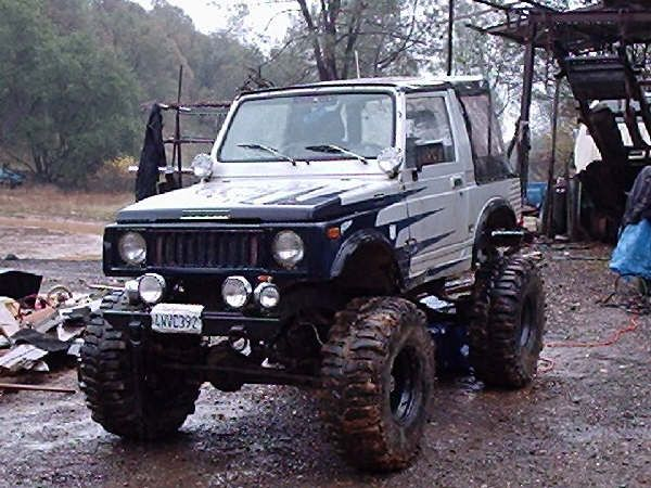 Samurai With Toyota Axles Pirate4x4 Com 4x4 And Off Road Forum