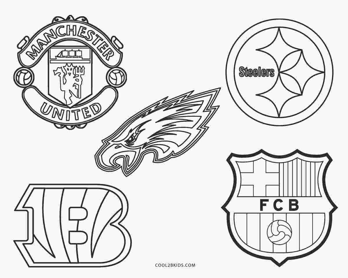 Best Printable Coloring Pages Football Teams 3333 Amazing