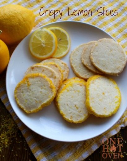 These sweet shortbread cookies are packed full of lemony goodness that make these cookies my favorite.