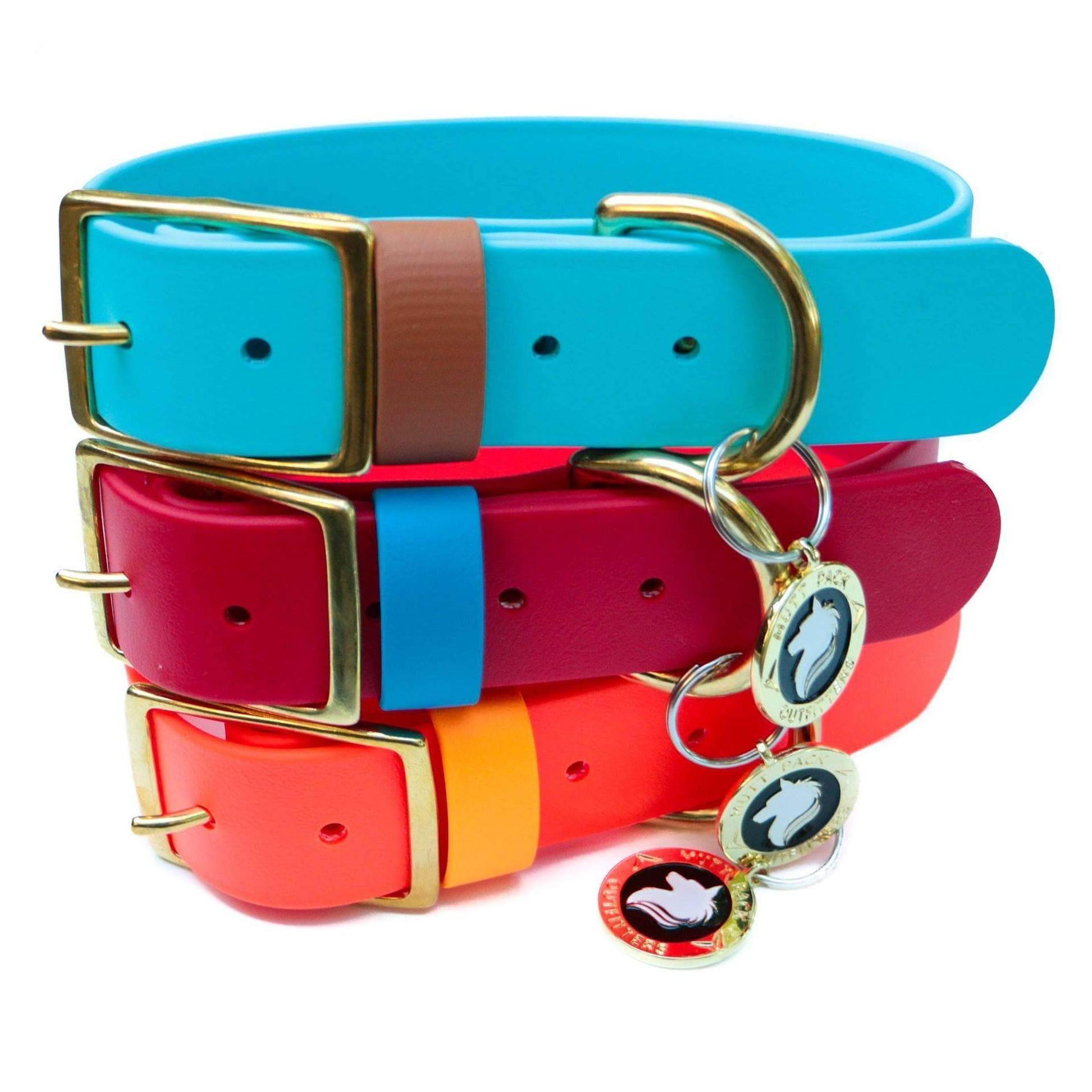 15 biothane collar waterproof dog collar handmade