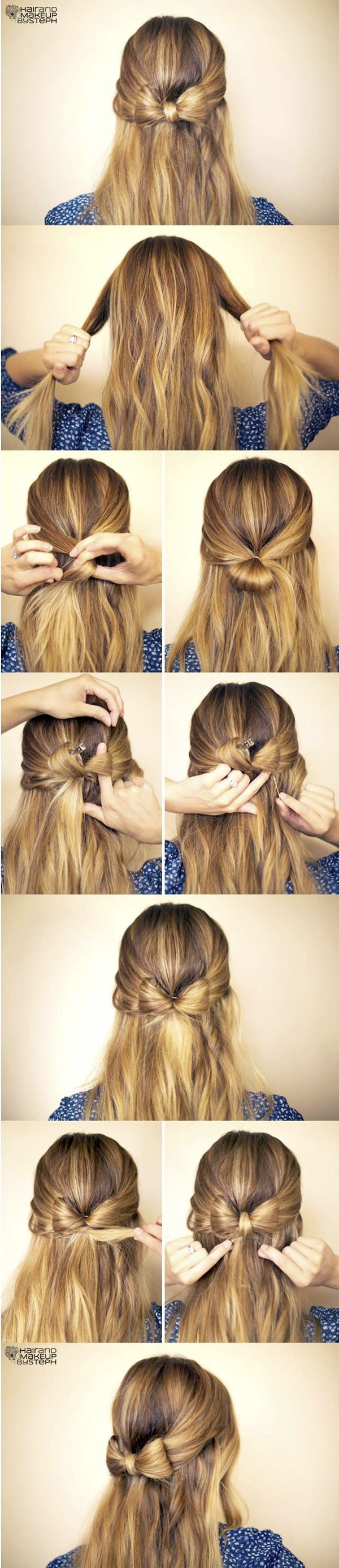 Pin by amy haubein on christmas hair pinterest hair style hair