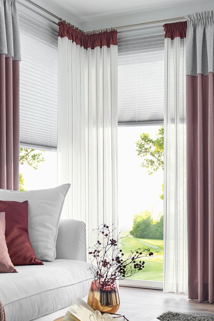 Harmonische Gardine Für Ihr Wohnzimmer Gardinen Wohnzimmer Modern Gardinen Wohnzimmer Gardinen Rosa
