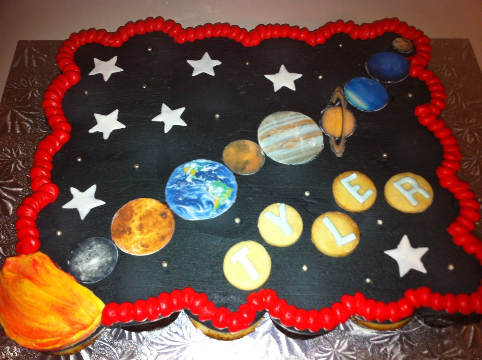 Cupcakes with Edible Solar System (page 3) - Pics about ...