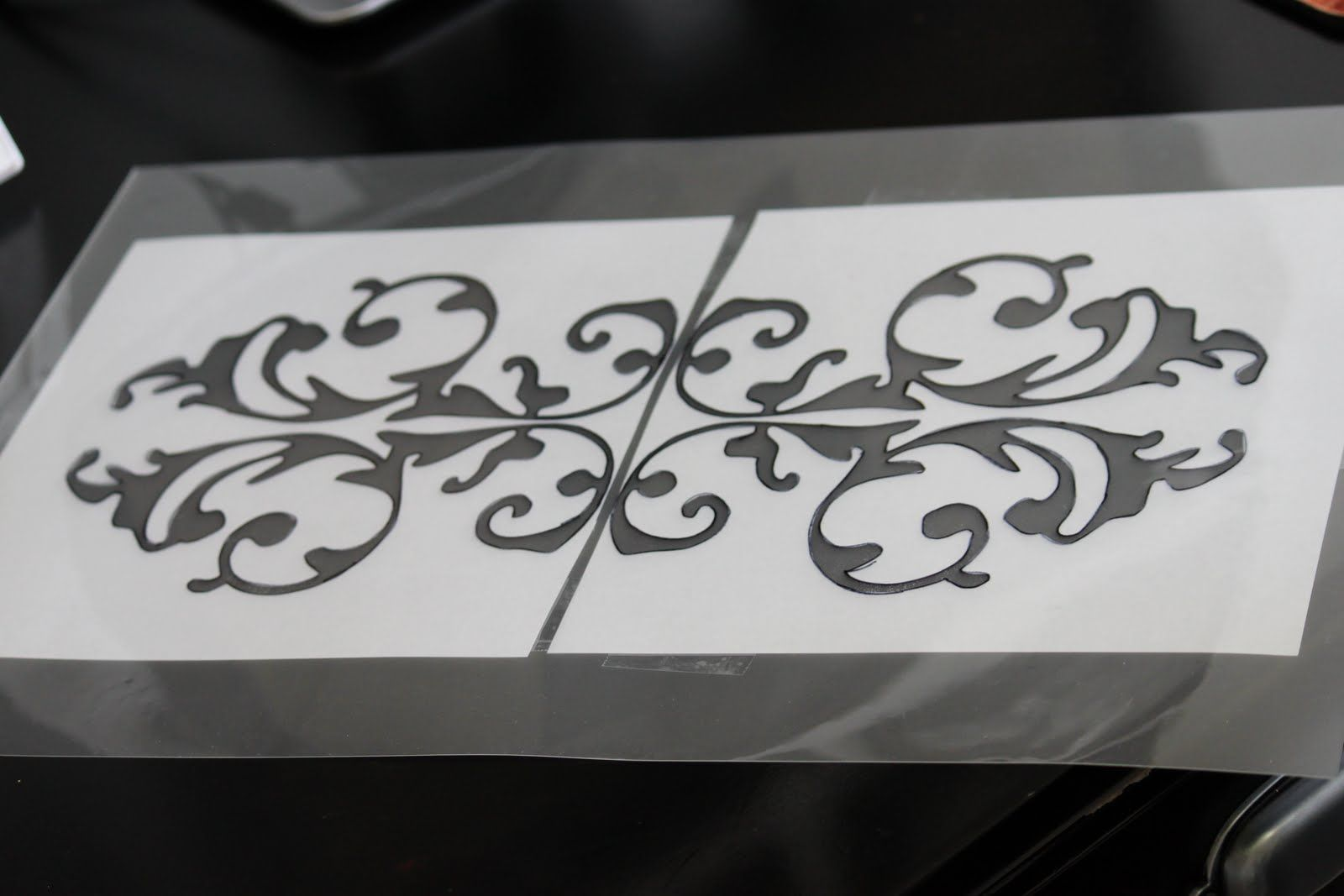 Make Your Own Stencils It S Easy As 1 2 3 1 Print From Pc Or Draw Your Stencil Pattern On